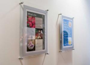 acrylic frame poster advertising bali